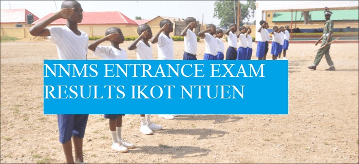 NNMS Entrance exam results