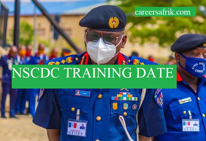 nscdc training date