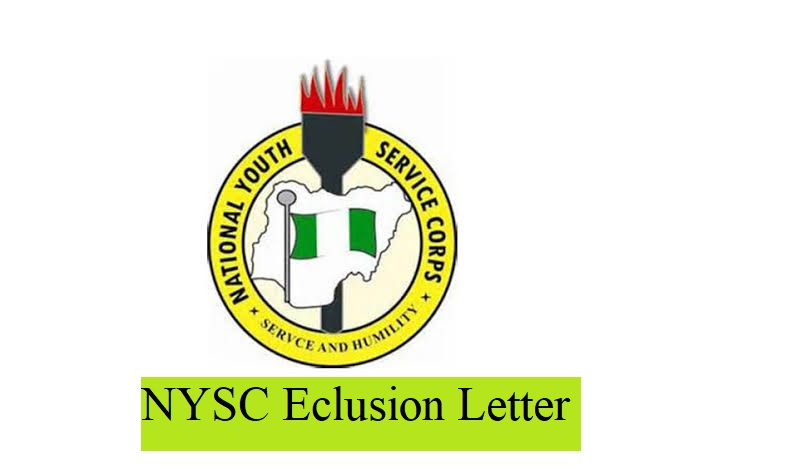 nysc exclusion letter